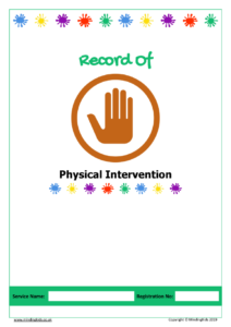 Physical Intervention Record
