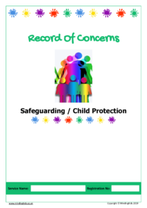 Safeguarding - Record of Concerns