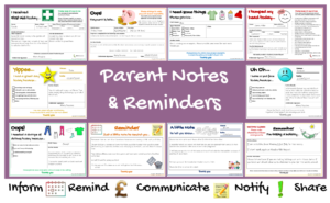 Parent Notes & Reminders