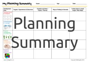 Individual Planning Summary