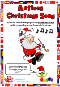 Actions Christmas Song