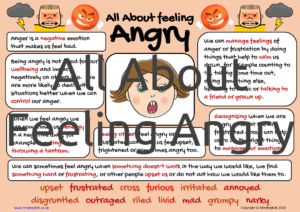 All About Feeling Angry