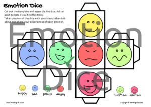 Emotion Dice