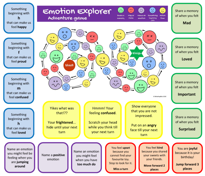 Emotion Explorer Adventure Game