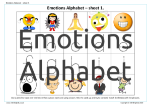 Emotions Alphabet