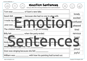 Emotion Sentences