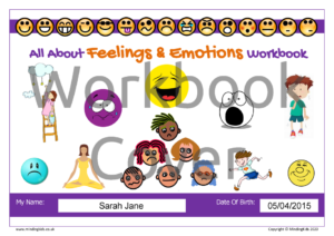 Feelings & Emotions Workbook Cover