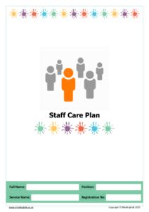 Staff Care Plan