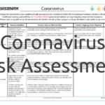 Coronavirus Risk Assessment