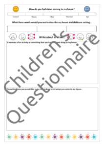 Children's Questionnaire 2