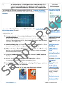 ELC Provider Checklist