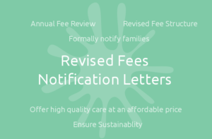 Revised Fees Notification Letters