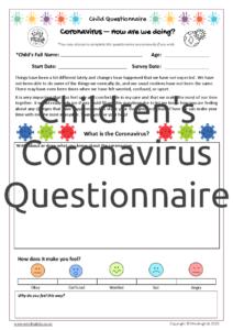 Child Coronavirus Questionnaire