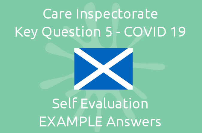 Key Question 5 - COVID 19 EXAMPLE Answers