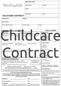 Childcare Contract