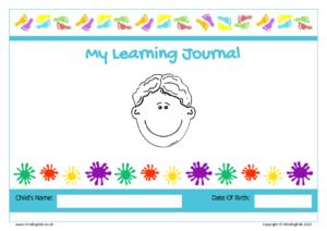 learning journal boy