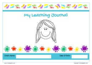 learning journal girl