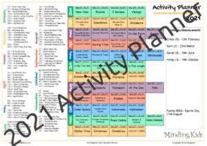 2021 Activity Planner