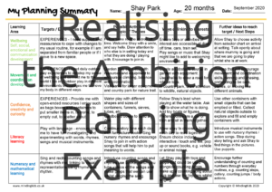 RTA-Planning Summary