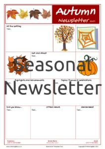 Seasonal Newsletter