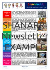 SHANARRI Newsletter