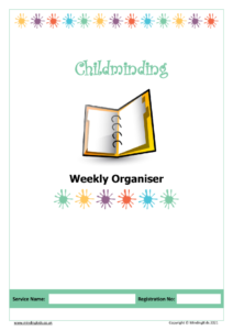 Weekly Organiser Cover