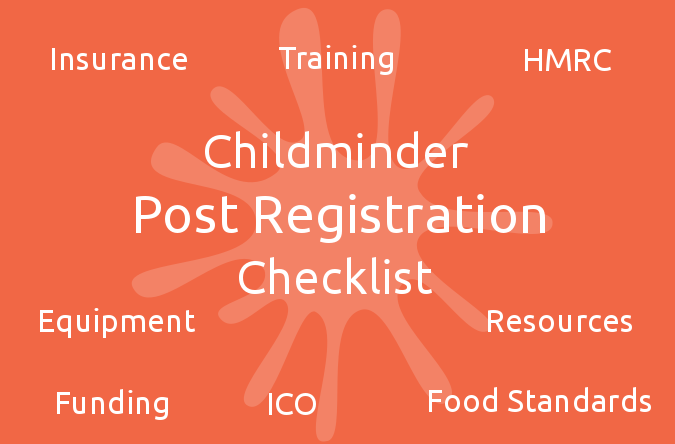 Childminder Post Registration Checklist