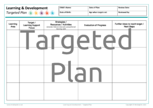 Targeted Plan