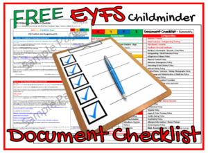 EYFS Document Checklist Ad Image