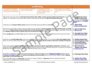 Scottish Childminder Checklist Image 2