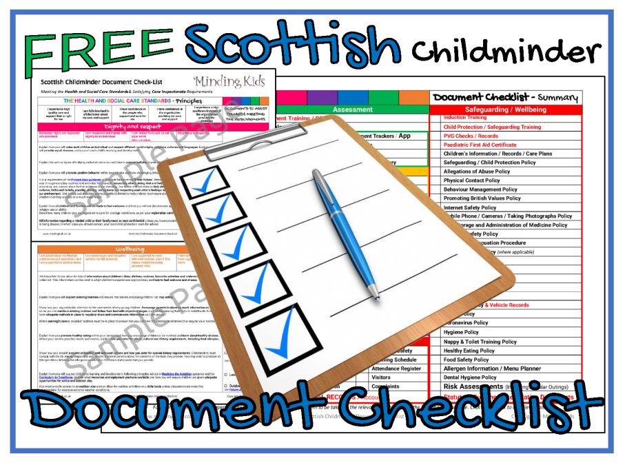 Scottish Document Checklist Ad Image