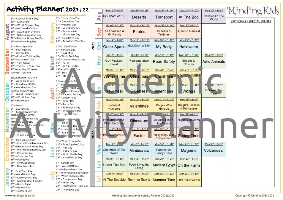 Academic Activity Planner_Image