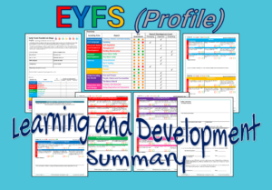 EYFS (Profile) Learning and Development Summary