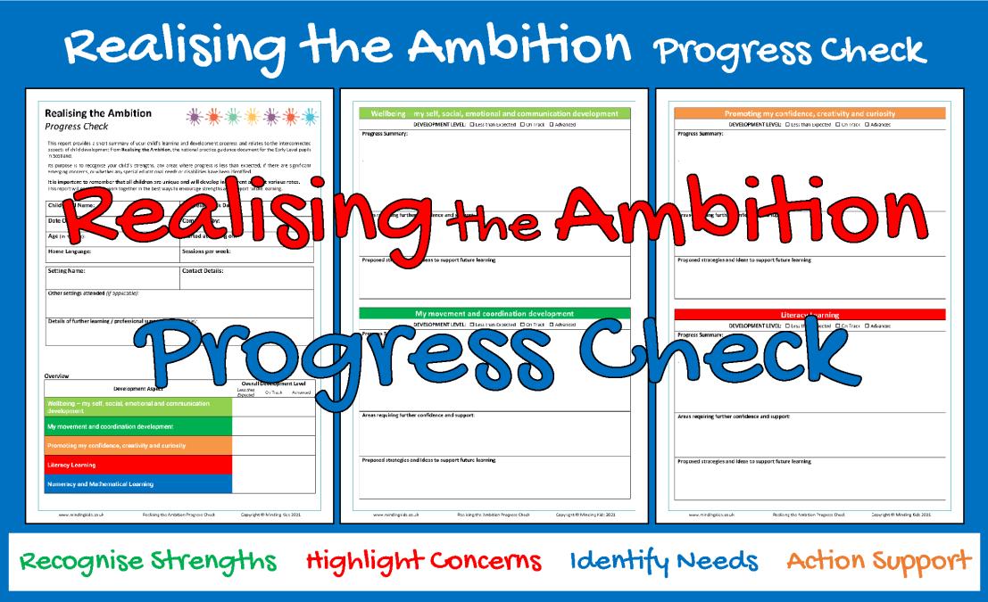 Realising the Ambition Progress Check