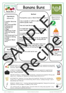 Recipe Sheet 1