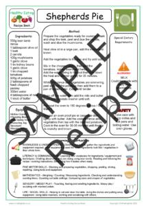 Recipe Sheet 2